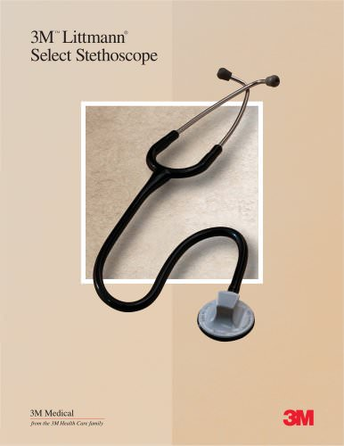 Littmann Select Stethoscope Sales Sheet