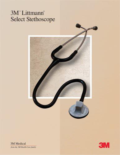 Littmann Select Stethoscope Sales Sheet