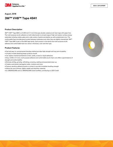 3M™ VHB™ Tape 4941