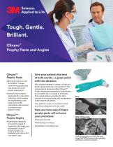Clinpro Prophy Paste and Angles Flyer