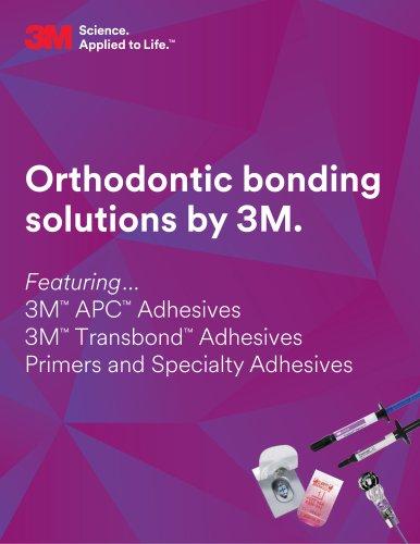 Orthodontic bonding solutions by 3M