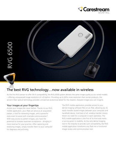 RVG 6500 System Information Sheet