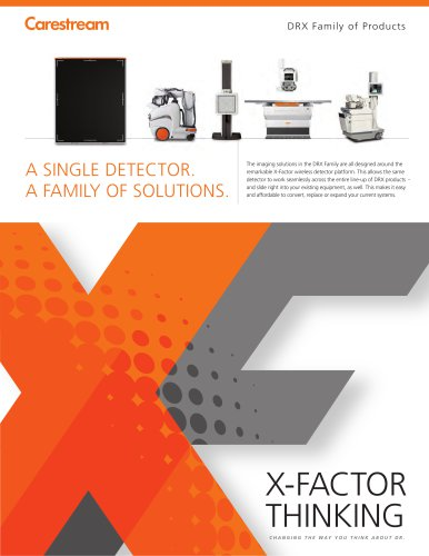CARESTREAM DRX Family Brochure