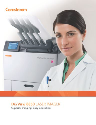 CARESTREAM DRYVIEW 6850 Laser Imager