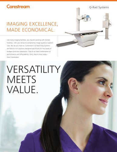 CARESTREAM Q-Rad X-Ray Systems