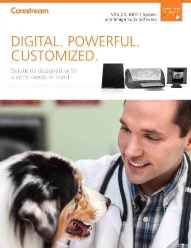 CARESTREAM Veterinary Imaging Solutions