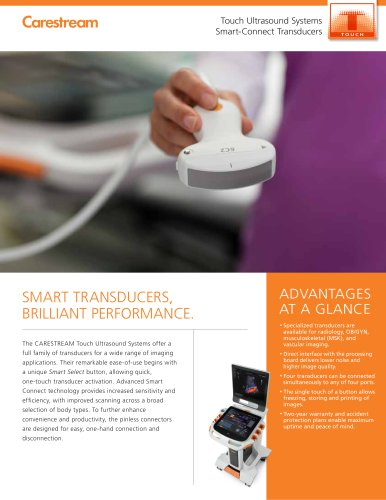 Smart-Connect Transducers Brochure