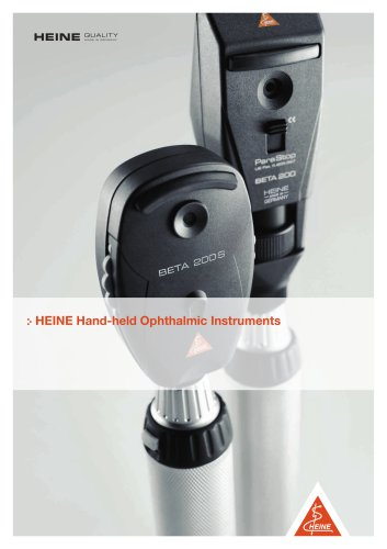 BETA200 RETINOSCOPE WITH HEINE PARASTOP® 3.5 V