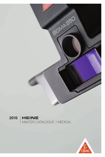 HEINE Master Catalogue 2015