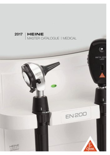 HEINE Master Catalogue 2017