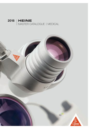 HEINE Master Catalogue 2018
