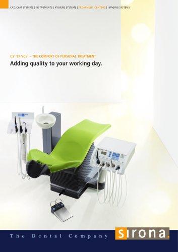 Dental treatment Units C3+/C4+/C5+