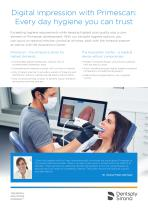 Digital impression with Primescan: Every day hygiene you can trust