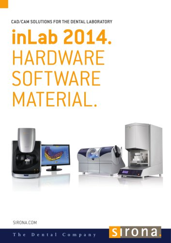 inLab 2014. Product Catalogue