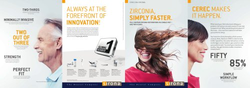 Zirconia, simply faster