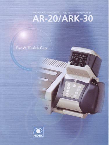 Auto-Réfractomètres / Kératomètres Séries AR / ARK