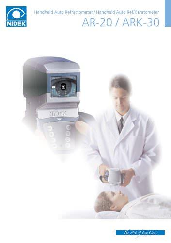 Hand-held auto refractometer / Hand-held auto refracto-keratotometer AR-20/ARK-30