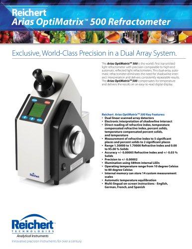 ARIAS OptiMatrix 500 Refractometer