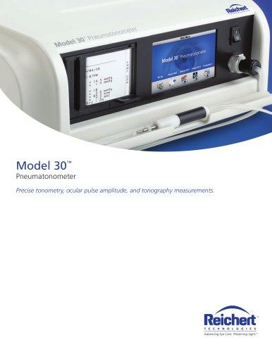 Model 30 Pneumatonometer - Brochure