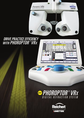 Phoroptor® VRx - Digital Refraction System