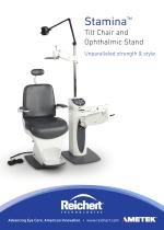Stamina Tilt Chair and Ophthalmic Stand