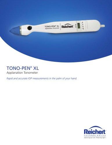 Tono-Pen XL Applanation Tonometer Brochure