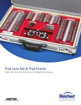 Trial Lens Set & Trial Frame