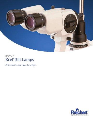XCEL Slit Lamps Brochure