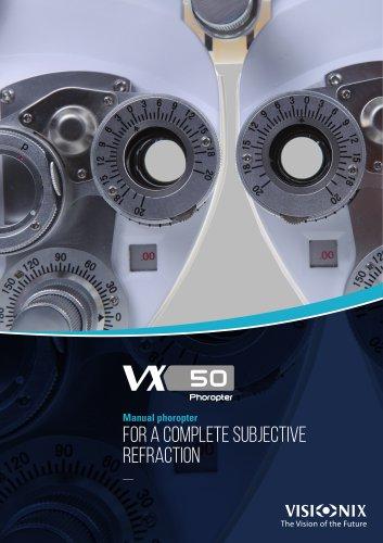 phoropter vx50 visionix