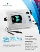 E-Z Scan™ 5500+ Series Ophthalmic Ultasound Scanner - 1