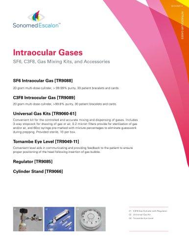 Intraocular Gases Brochure