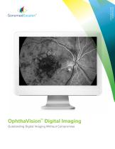 OphthaVisionTM Digital Imaging - 1