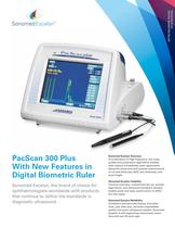 PacScan 300 Plus With New Features in Digital Biometric Ruler