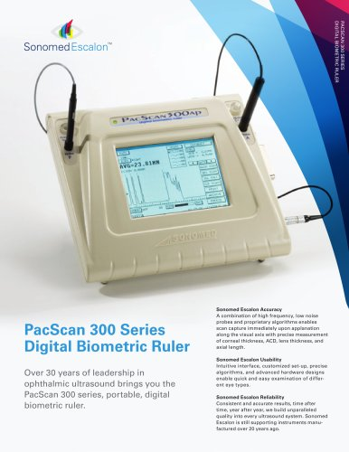 PacScan 300 Series Digital Biometric Ruler