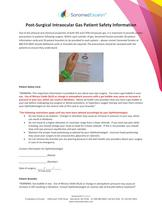 Post-Surgical Intraocular Gas Patient Safety Information