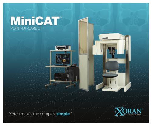 MiniCAT brochure