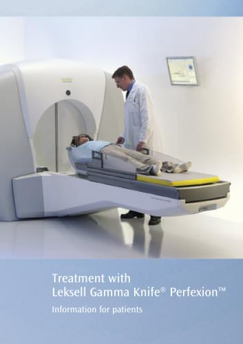 Leksell Gamma Knife® Patient Brochure 2011