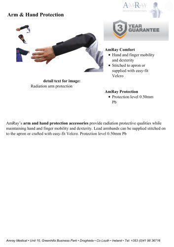 Arm & Hand Protection