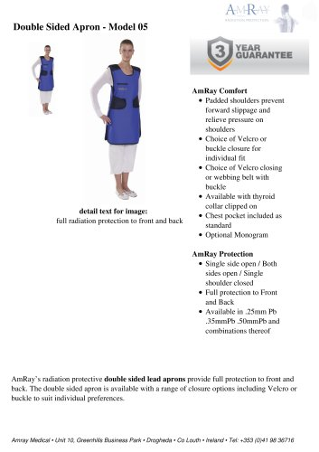 Double Sided Apron - Model 05