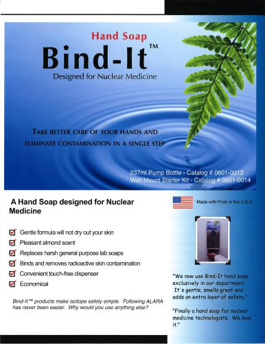Bind-It Decontamination