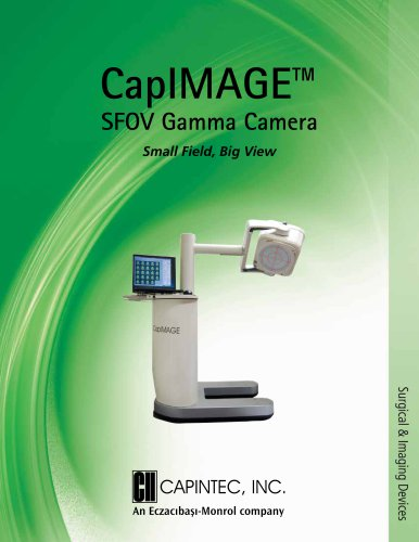 CapIMAGE ™ Small Field-of-View Gamma Camera Brochure