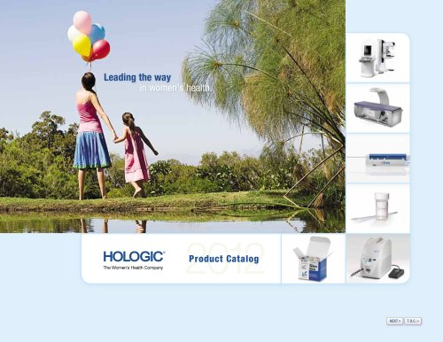 Hologic Product Catalog