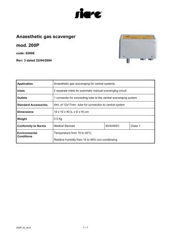 Gas scavenger 200P