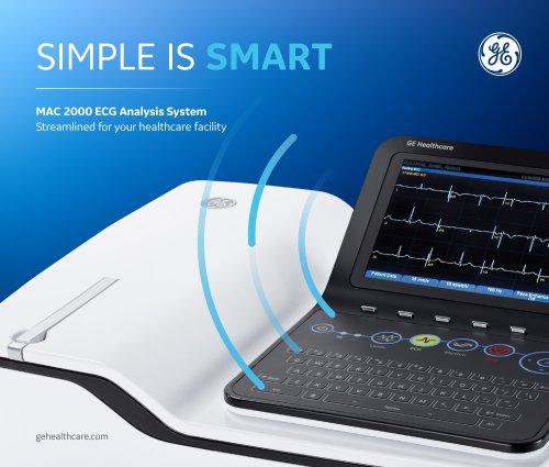 MAC 2000 ECG Analysis System