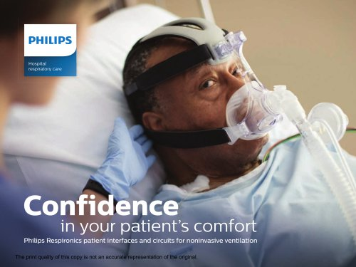 Confidence  in your patient's comfort