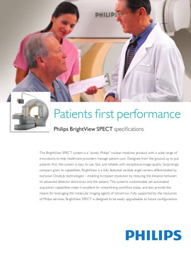 Patients fi rst performance