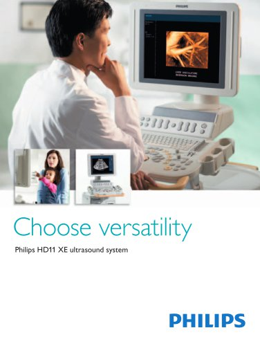 Philips HD11 XE ultrasound system