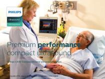 Premium performance compact ultrasound