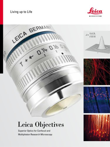 Leica TCS SP8 Objective