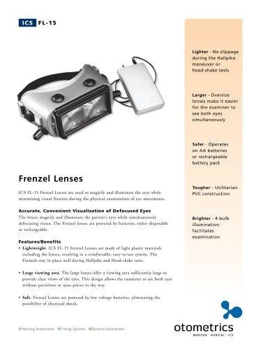 ICS FL-15 Frenzel Lenses